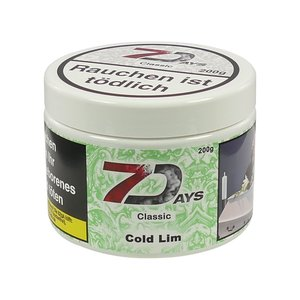 7Days Cold Lime - 200g